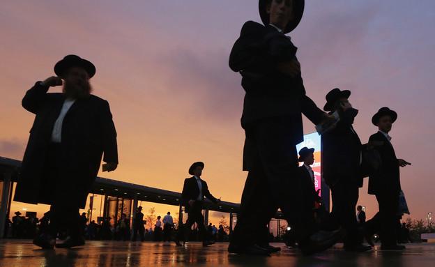 חרדים (צילום: Mario Tama, GettyImages IL)