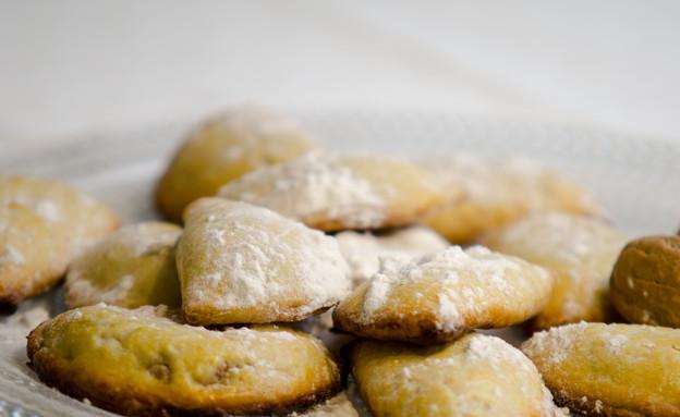 מאפים ממולאים גבינה ושקדים (ספוליאטלה) (צילום: עדי עובדיה, מאסטר שף)