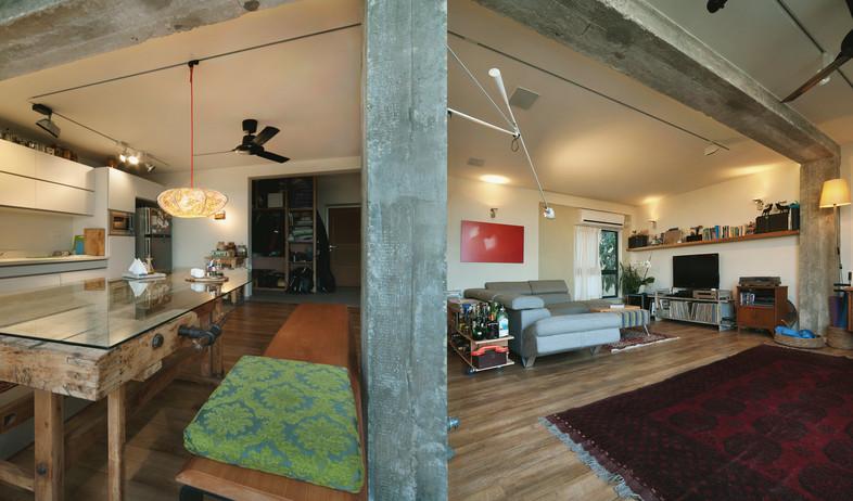 הבתים מבפנים, תאורה ביפו עמוד אדריכלית נעמה ואילון (צילום: עמרי אמסלם)
