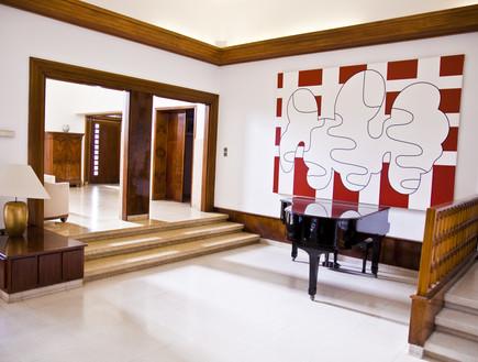 הבתים מבפנים, בית השגריר פסנתר, צילום בנג'מין הוגט (צילום: בנג'מין הוגט)