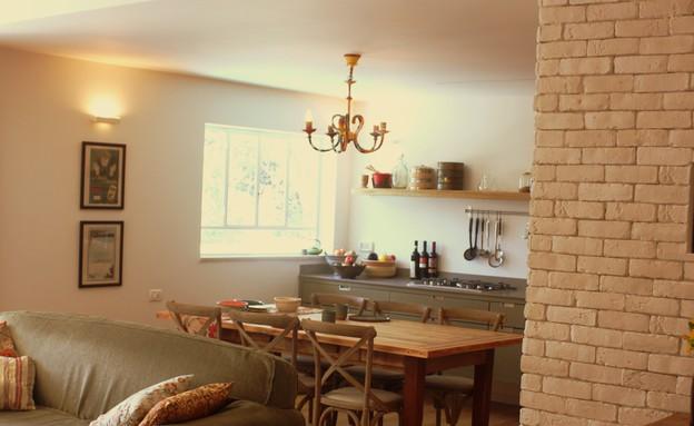 טל גוטהילף, מטבח מהסלון, צילום יעל גולן (צילום: יעל גולן)