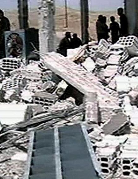 ההרס בסוריה (צילום: הטלוויזיה הסורית)