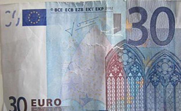 שטר מזויף של 30 אירו