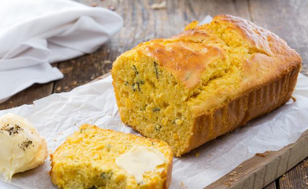 לחם תירס ואורגנו טרי (צילום: בני גם זו לטובה, אוכל טוב)
