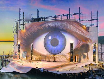 אופרה על המים, עין שקיעה
