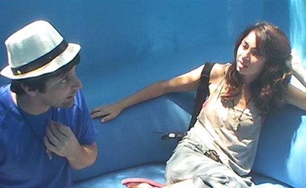 יניב ושלי בשיחה (תמונת AVI: mako)