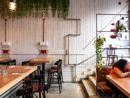 מסעדת ג'קוס סטריט בירושלים - המדרגות