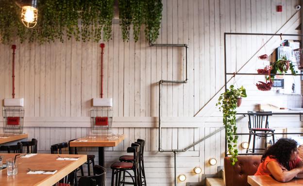 מסעדת ג'קוס סטריט בירושלים - המדרגות (צילום: גלי שריג)