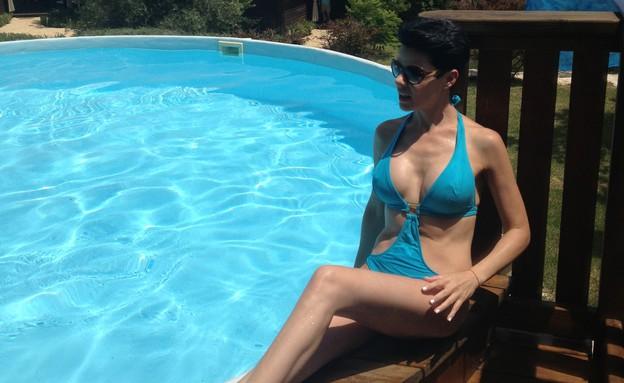 דנה רון בבגד ים (צילום: mako)