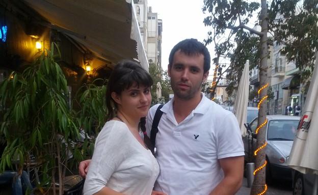 זוג תיירים מרומניה (צילום: לימור בן-רומנו)