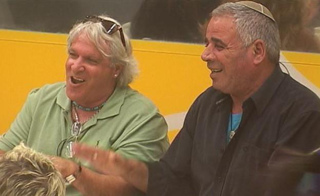 רוני ואבי בארוחת ערב (תמונת AVI: mako)