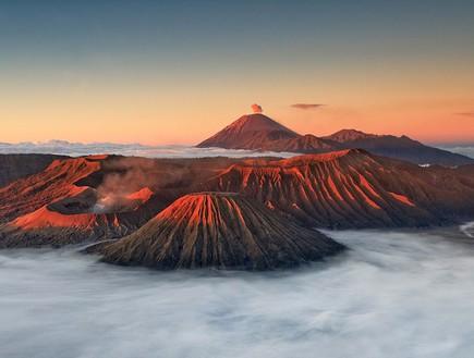 מבט מלמעלה, וולקנו אינדונזיה