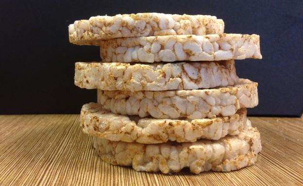 פריכיות אורז (צילום: צילום ביתי, אוכל טוב)