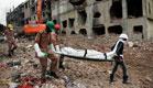 עבודות החילוץ בבנגלדש (צילום: ap)