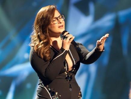 מורן מזור, חזרה שנייה, אירוויזיון (צילום: eurovision.tv)