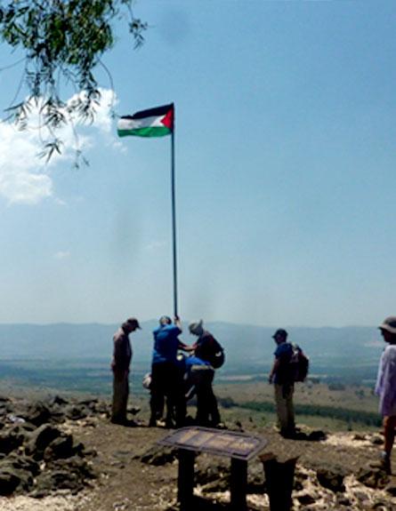 """גמלאי הותקף בידי ערבים: """"הם זרקו מקל ההליכה"""" (צילום: אבנר סלאפק)"""