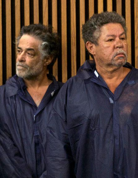 """יטען כי הוא חף מפשע. קסטרו בביהמ""""ש (צילום: רויטרס)"""