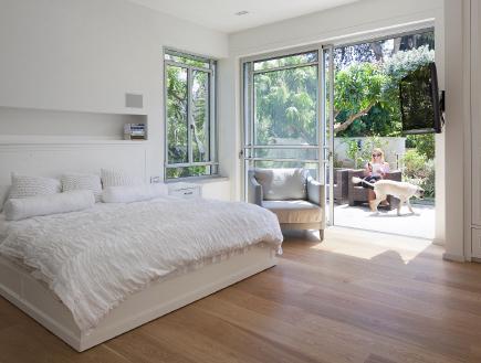 בית שרון ויזר, חדר שינה