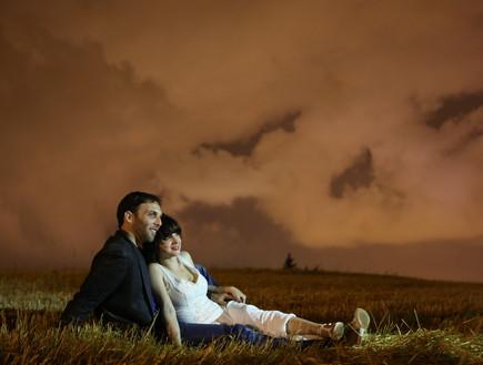 החתונה של הילה ועידו (צילום: פוטוגנים)
