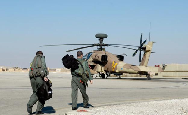 מסוק אפאצ'י (צילום: אתר חיל האוויר)