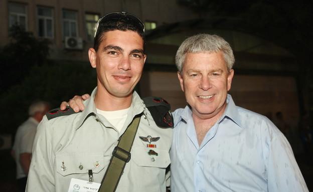 דוד אדרי באירוע אמץ לוחם (צילום: קובי קנטור, האגודה למען החייל)