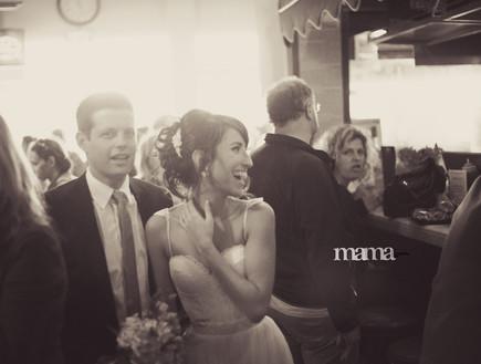 החתונה של יערה ואלעד (צילום: מאמא צלמים)