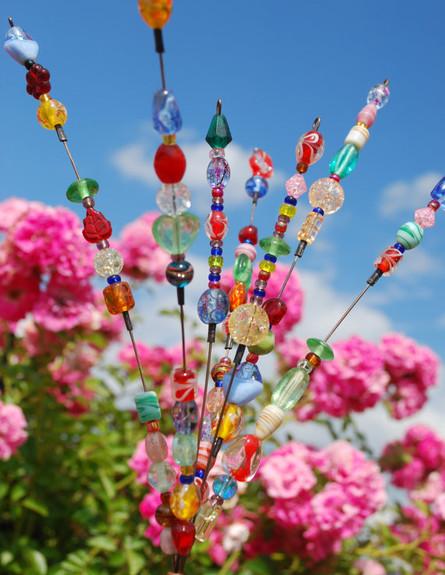 שדרוג גינה זרי זכוכית (צילום: www.etsy.com)