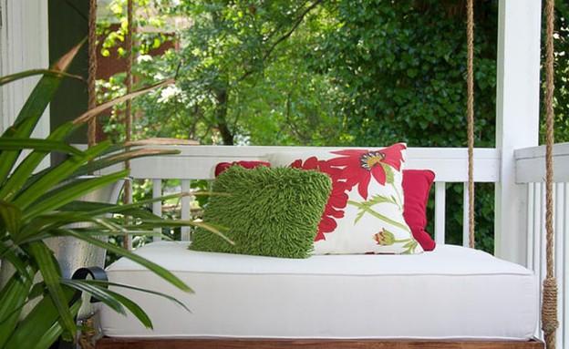 שדרוג גינה מיטת נדנדה (צילום: www.archidir.com)