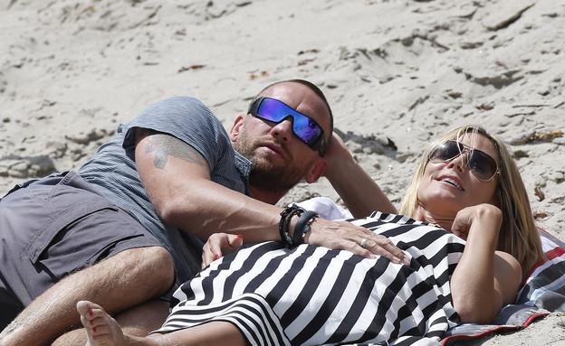 היידי קלום והחבר (צילום: JD/Splash News, Splash news)
