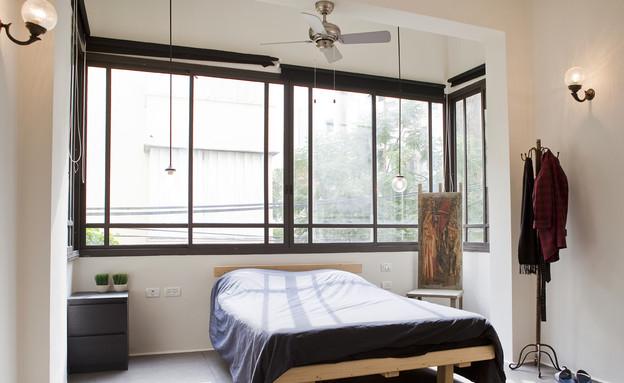 מייקאובר, חדר שינה חלון (צילום: דנה קרן)