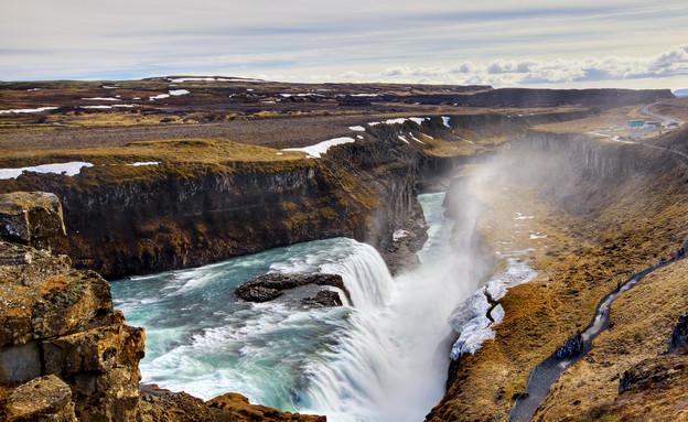 מפל גוליפוס, איסלנד (צילום: אימג'בנק / Thinkstock)