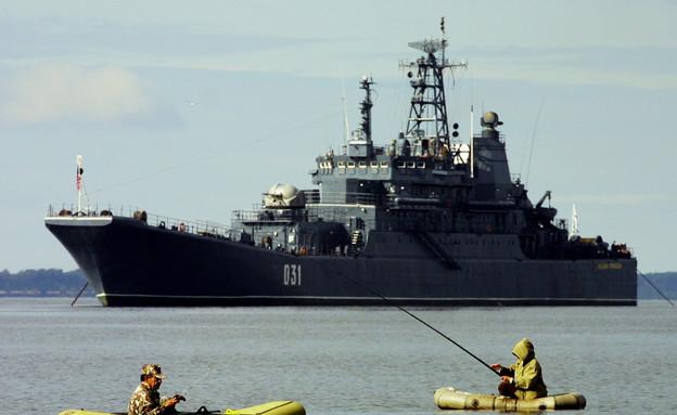 ספינת מלחמה רוסית (צילום: Oleg Nikishin, GettyImages IL)