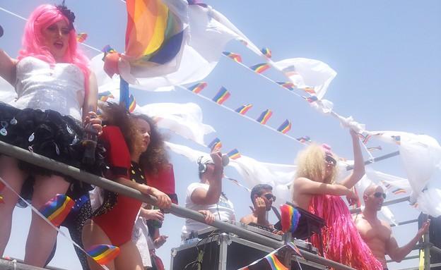 מצעד הגאווה באילת 2013 (צילום: עמרי קליינבורט )