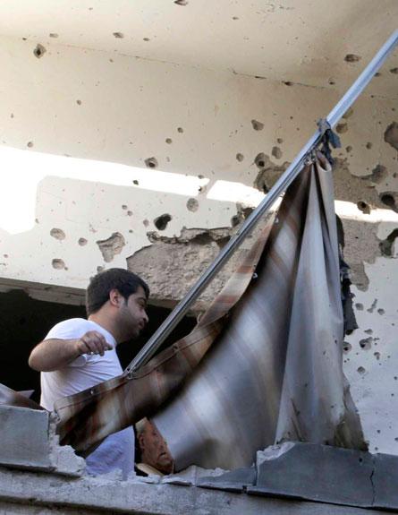 טילים בלבנון, הבוקר (צילום: רויטרס)