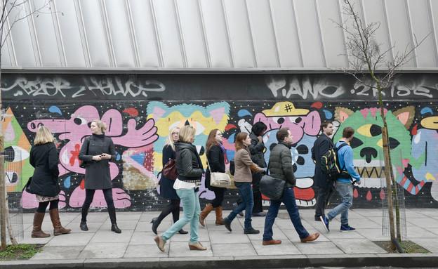 תיירים, סיור בלונדון