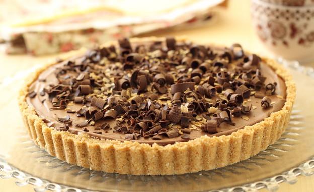 טארט מוס שוקולד ונוטלה (צילום: חן שוקרון, אוכל טוב)