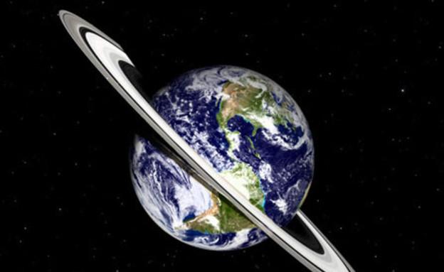 טבעת לכדור הארץ כמו שבתאי