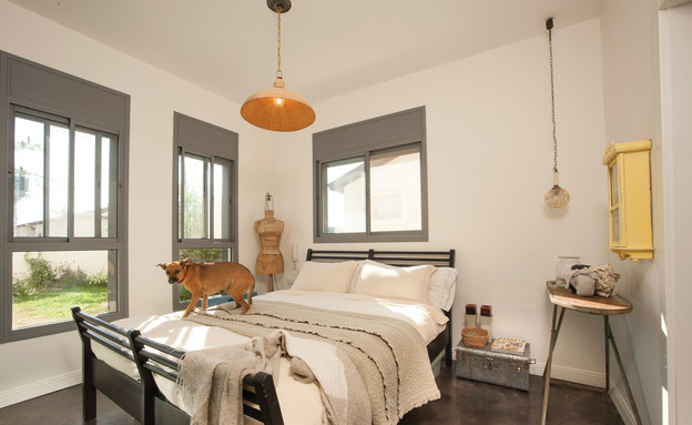 מעיין אשכנזי, חדר שינה (צילום: דודי ארדון)