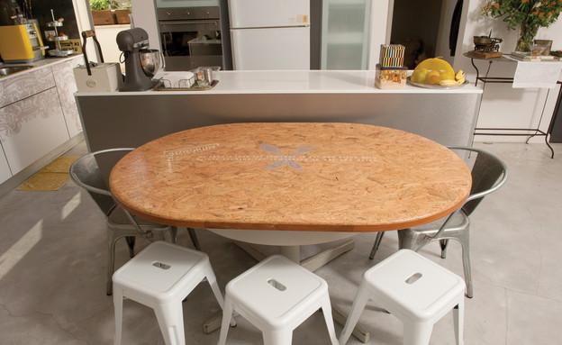 מעיין אשכנזי, שולחן אוכל (צילום: דודי ארדון)
