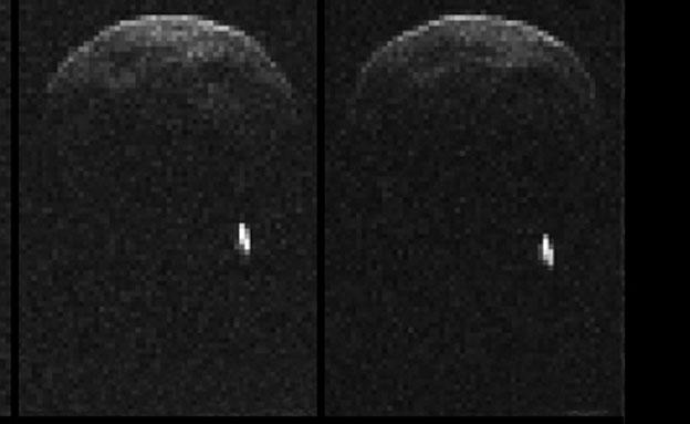 האסטרואיד שחלף ליד כדור הארץ (צילום: רויטרס)