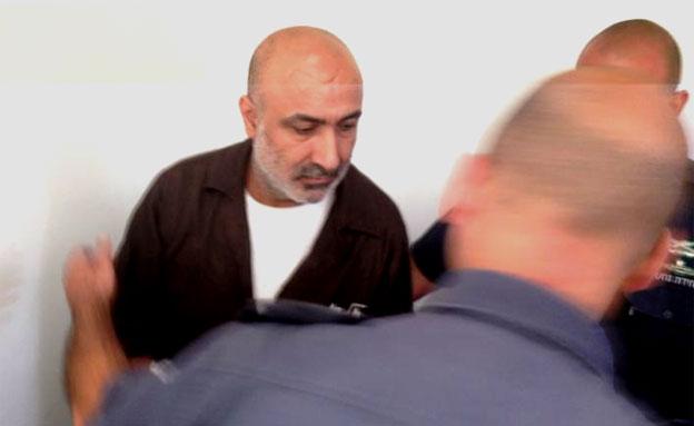 הנאשם בריגול, היום בבית המשפט (צילום: חדשות 2)