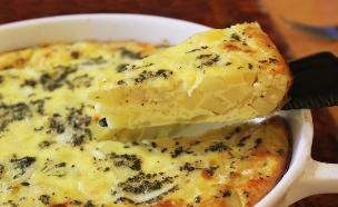 מאפה ביצים ותפוחי אדמה (צילום: אסתי רותם, אוכל טוב)