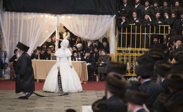 חתונה חרדית בחסידות בעלז צילום גטי