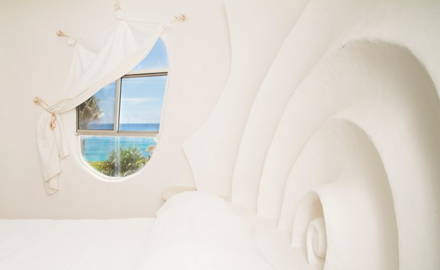 בית הצדף, חלון (צילום: www.airbnb.com)
