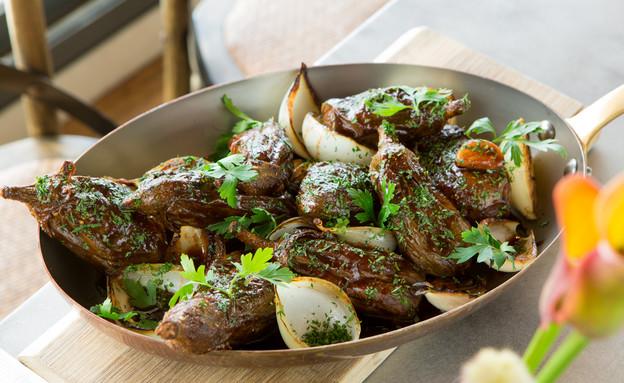 חצילים ממולאים בבשר טלה (צילום: בני גם זו לטובה, אוכל טוב)