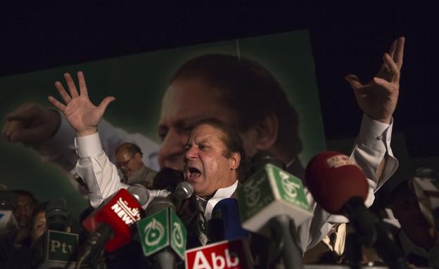 ראש ממשלת פקיסטן נוואז שריף (צילום: Daniel Berehulak, GettyImages IL)