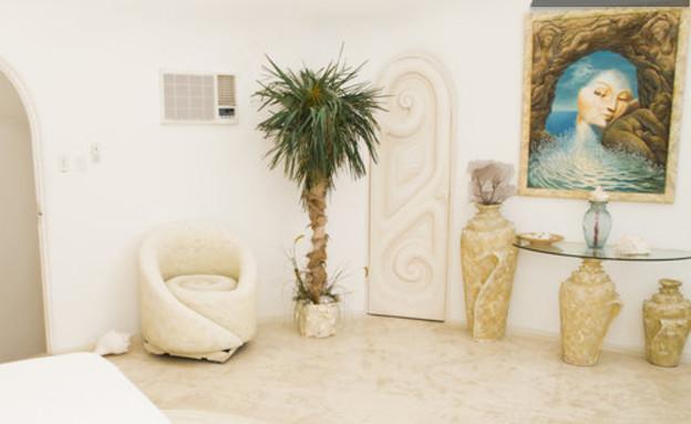 בית הצדף, כניסה (צילום: www.airbnb.com)