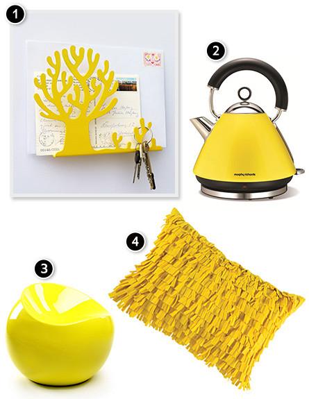 פריטים בצהוב