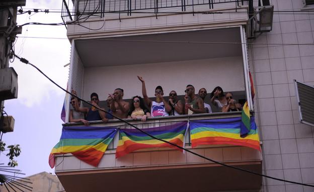 מצעד הגאווה בתל אביב 2013 (תמונת AVI: mako)