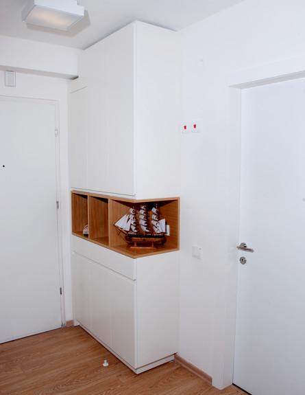 דירת 38 מטר, ארון (צילום: מולי פלד)